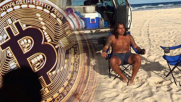 Vendió todos sus bienes para invertir en bitcoins su