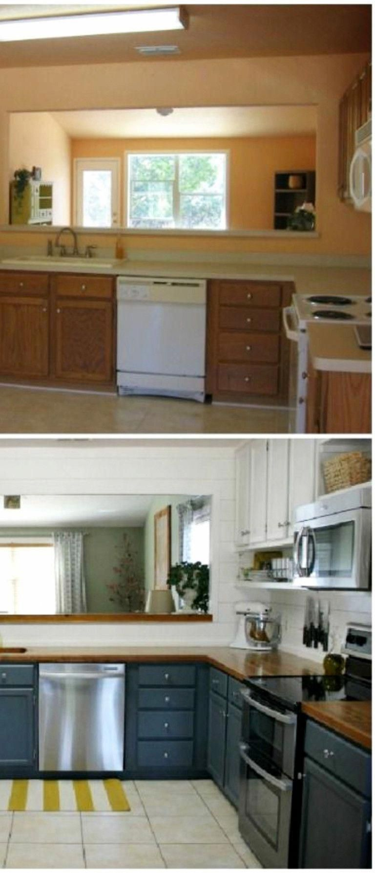 1960s Kitchen Remodel Before After: Before And After Pictures Of Small