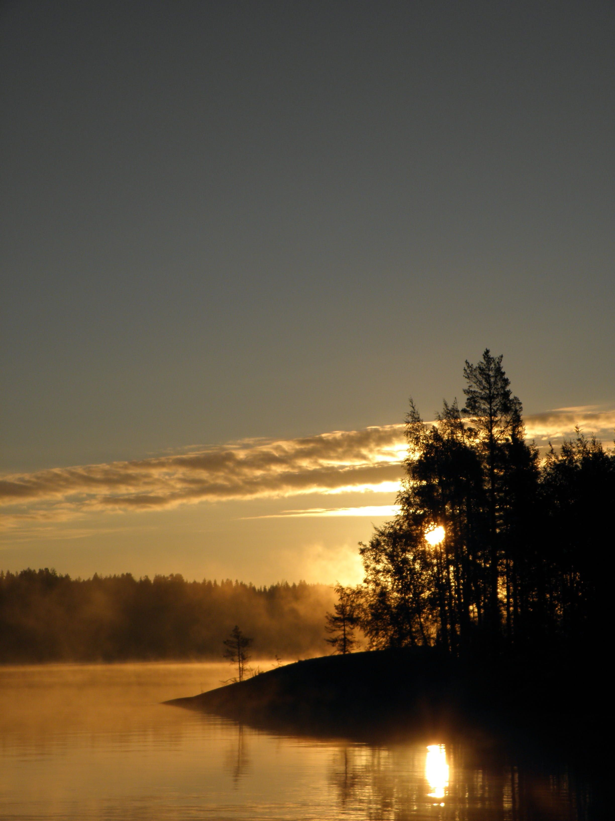 lake in finland tranquil Scene beauty In Nature
