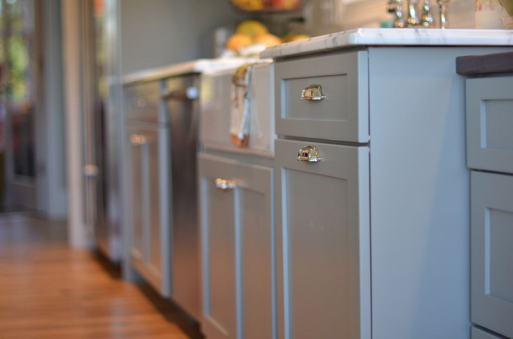 Beau Kitchen Cabinet Color   Fieldstone