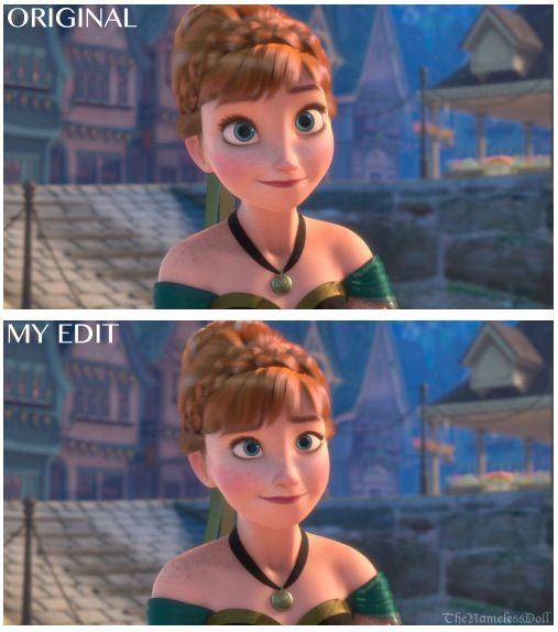 """Artist re-imagines what Disney Princesses would look like without the """"baby face"""""""