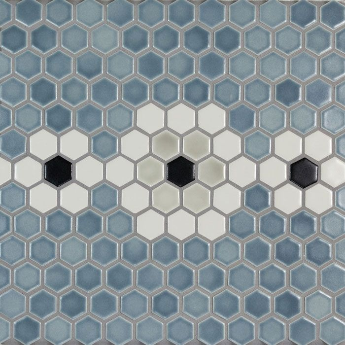 1 Hexagon Netted Pratt Larson Hexagonal Mosaic Ceramic Tile Backsplash Handmade Ceramic Tiles