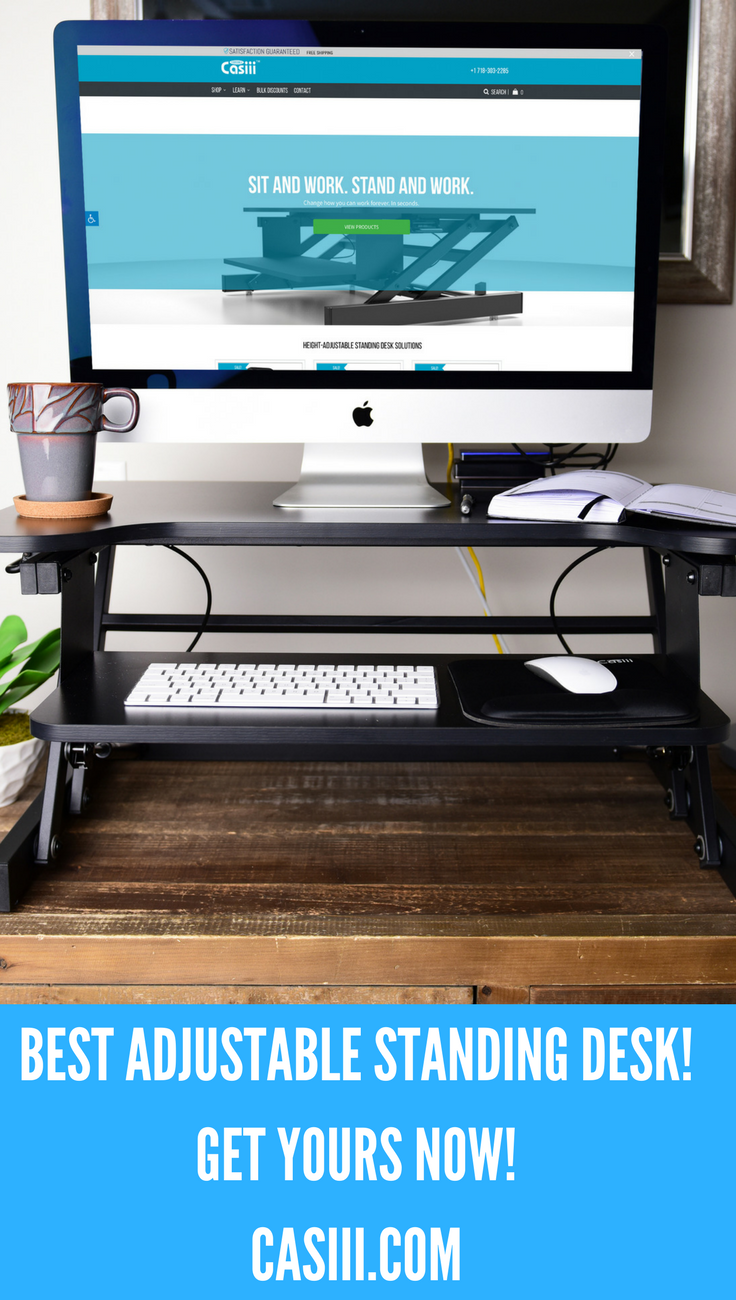 With casiii sx stand up desk riser youull have tons of extra room