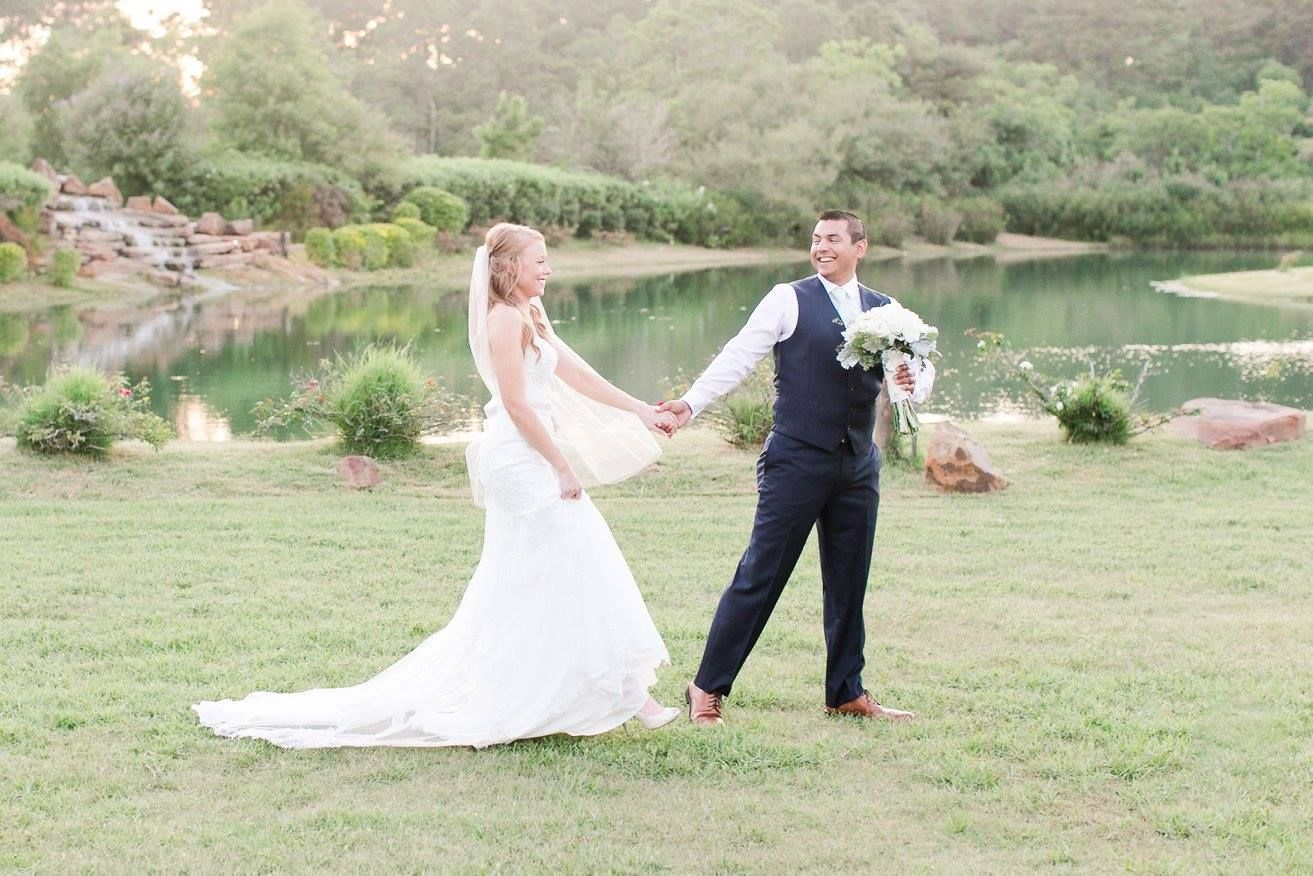 The Water On Our Property Is A Great Place To Take Photos Your Wedding Day Houston Venue Clear Lake League City