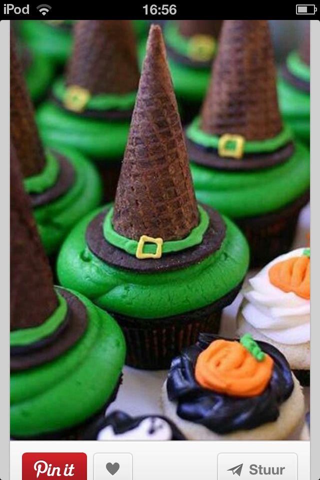 withches head cupcake Halloween Pinterest Halloween ideas
