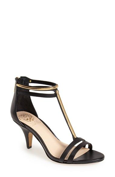 535350bc1595 Vince+Camuto+ Mitzy +Metallic+Snake+Print+T-Strap+Sandal +(Women)+available+at+ Nordstrom