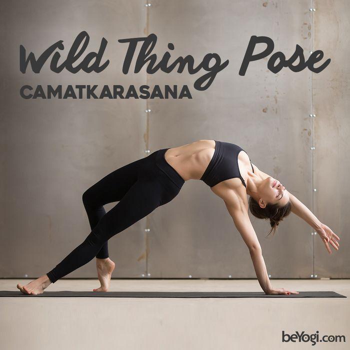 Wild Thing Pose - Camatkarasana | beYogi