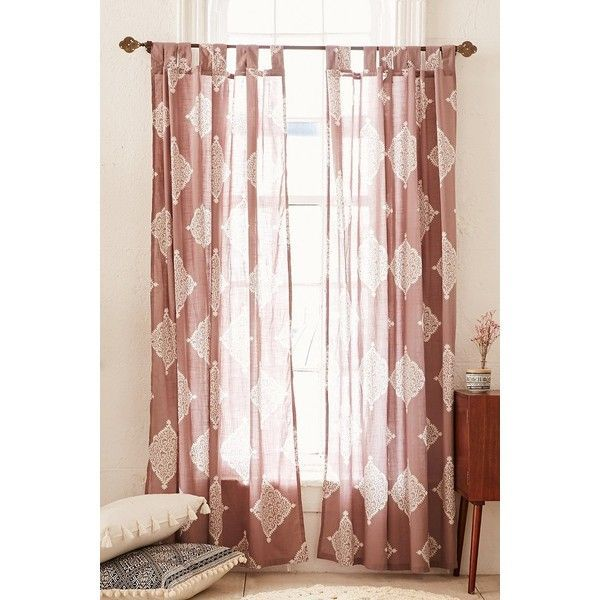 Plum & Bow Semana Curtain ($39) Liked On Polyvore