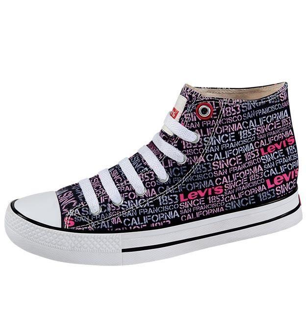zapatos levis tipo converse
