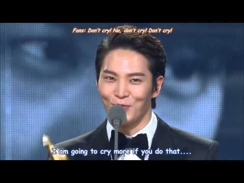 [Englishsub] Joo Won wins Top Excellence Award!!! He totally deserved it!!