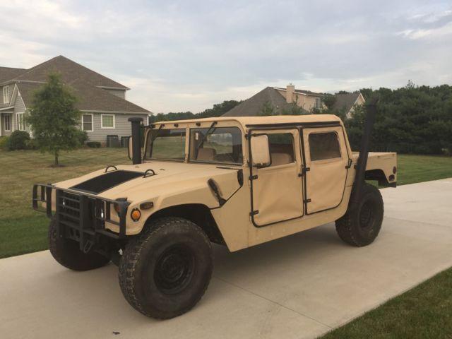 Hummer AM General M998 Humvee HMMWV with Title, Street ...