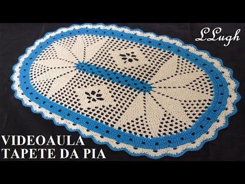 Tapete Da Pia Jogo De Banheiro Harmonia Luizadelugh Toalha De Mesa De Croche Jogo De Banheiro Harmonia Toalhinhas De Croche