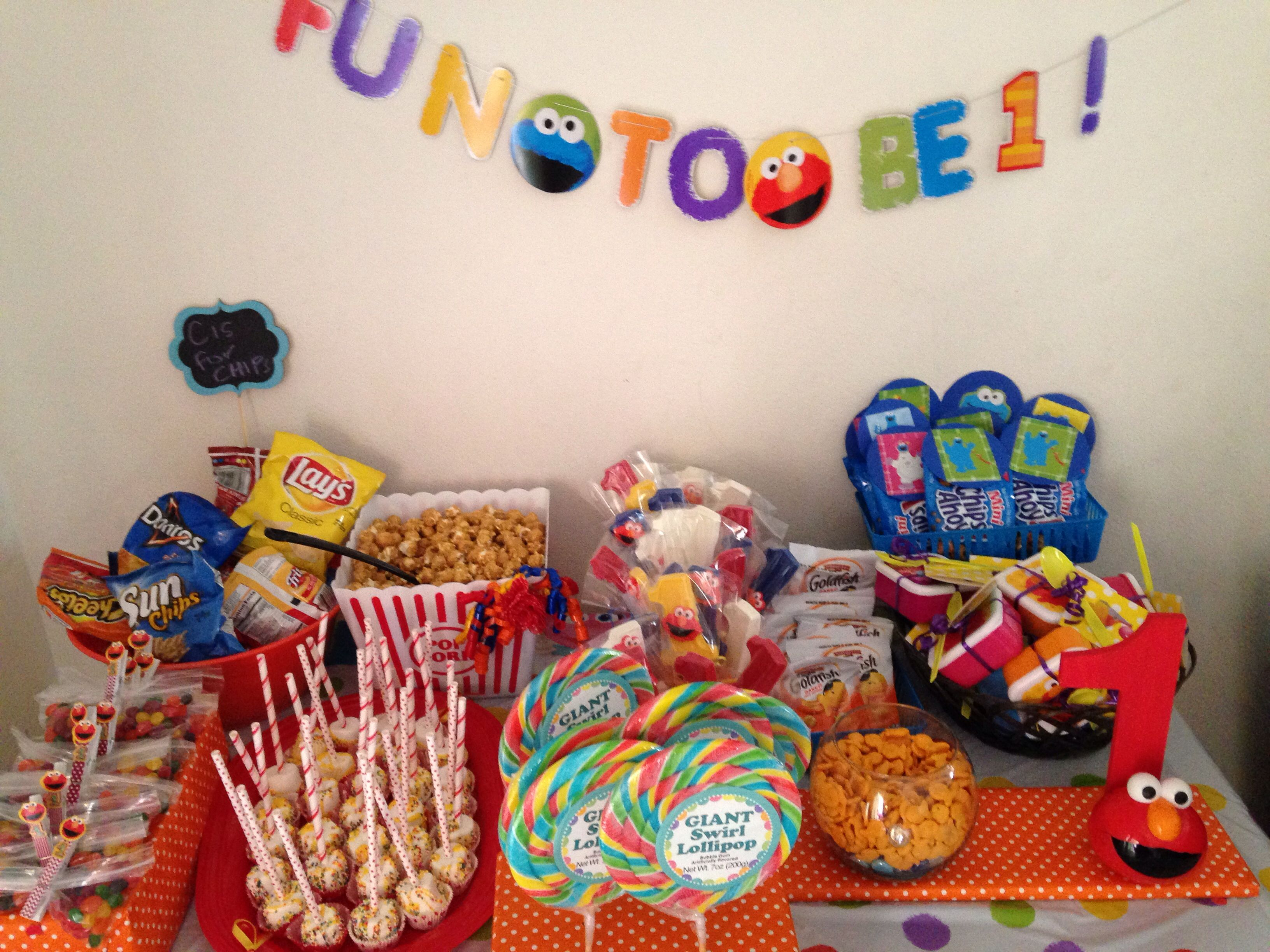 Elmo 1st Birthday Party Ideas Diy