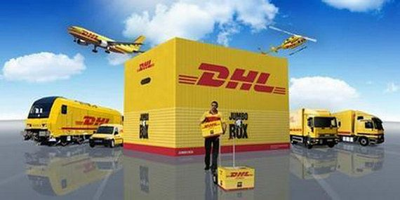 DHL Express Airlines Quick Delivery Service Expedited