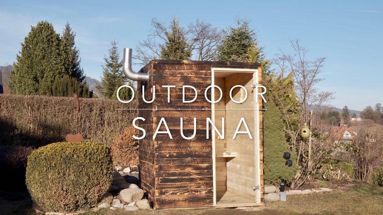 Diy outdoor sauna youtube in 2020 outdoor sauna sauna