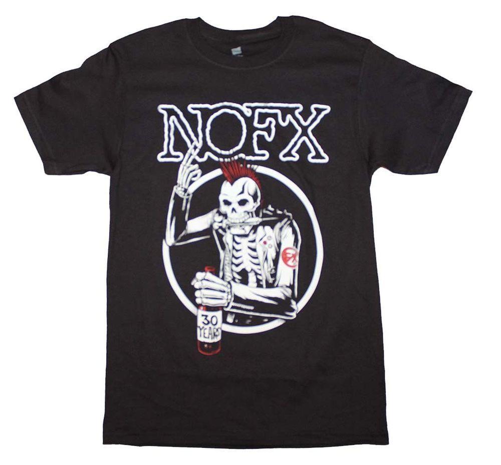 Black Misfits Skull Logo Punk Rock Heavy Metal Official Tee T-Shirt Mens Unisex