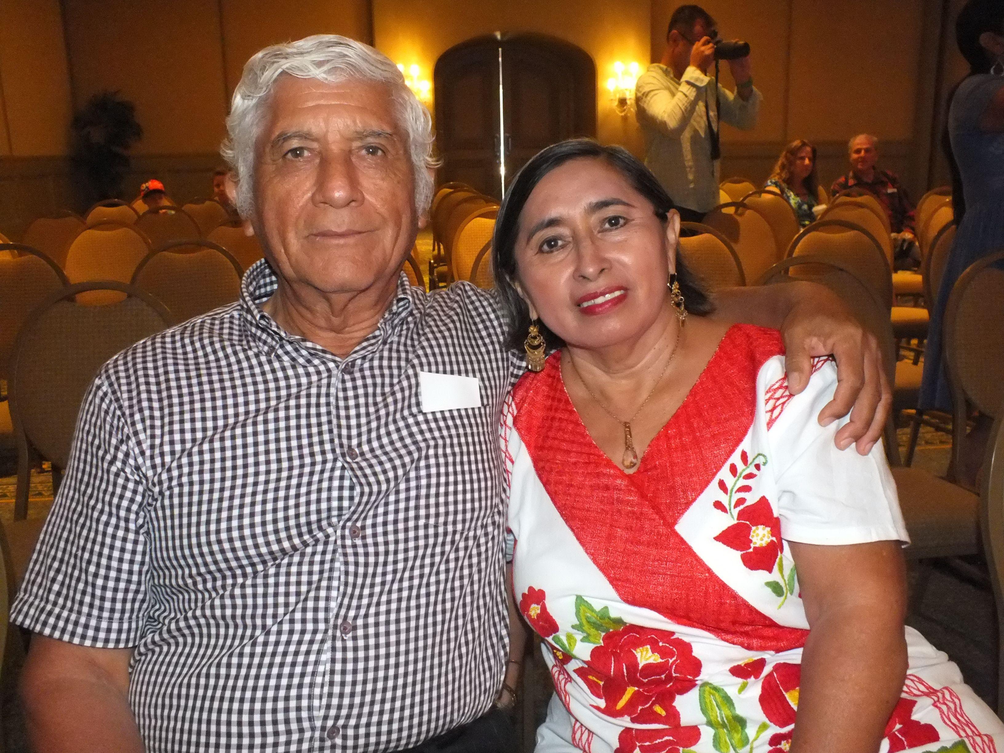 Celso Toledo y Lidia Aguilar