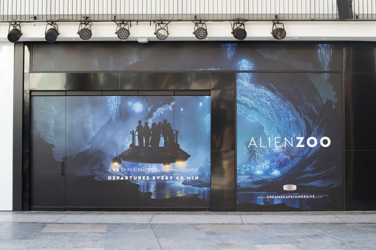 Dreamscape Immersive's Alien Zoo takes guests to an