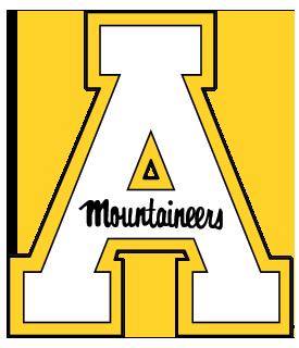 Printable Appalachian State Mountaineers Logo