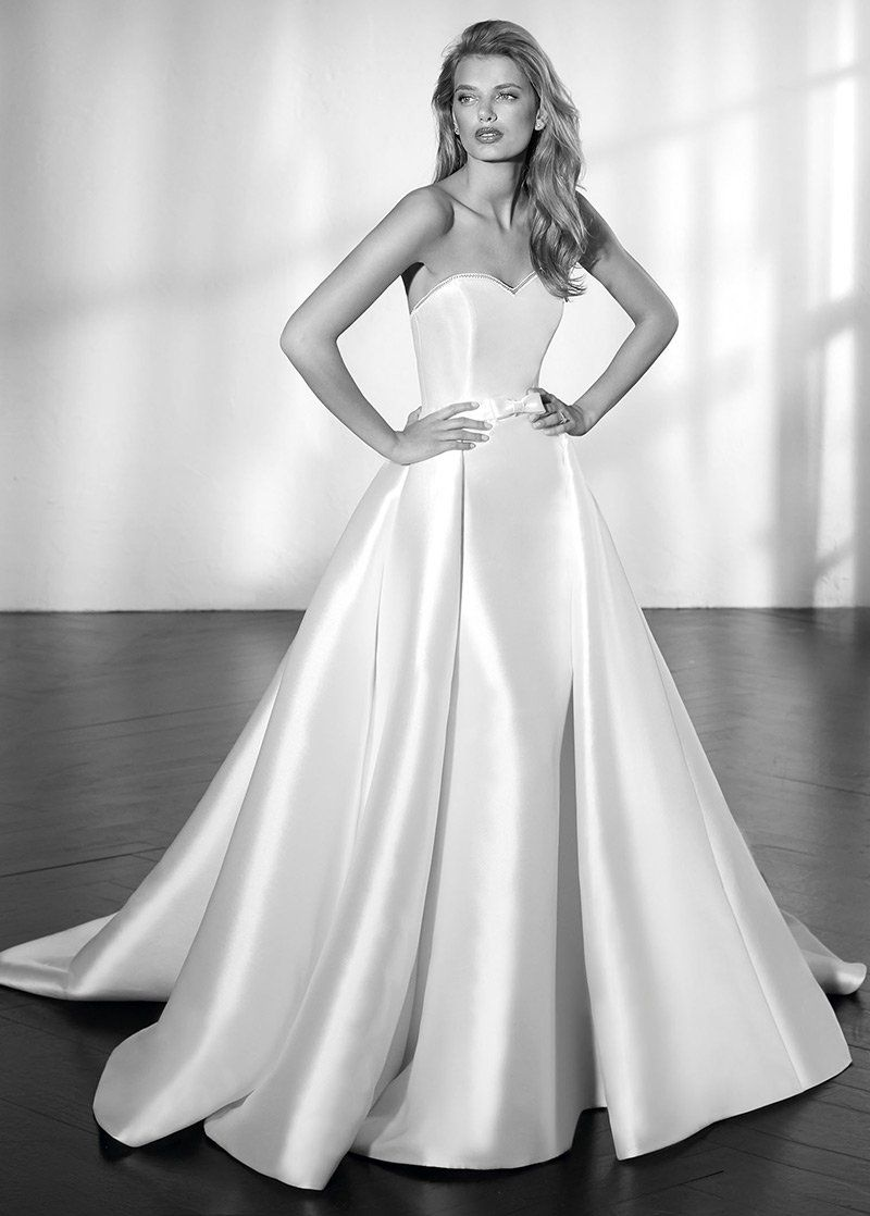 Simple Wedding Dresses, Marvelous Satin Sweetheart