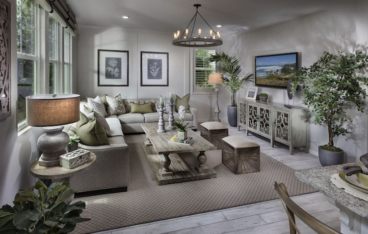 Melody Residence 2 Living Space New Homes Real Estate Lennar