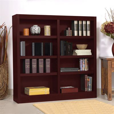 Concepts In Wood Mi48 Double Wide Bookcase