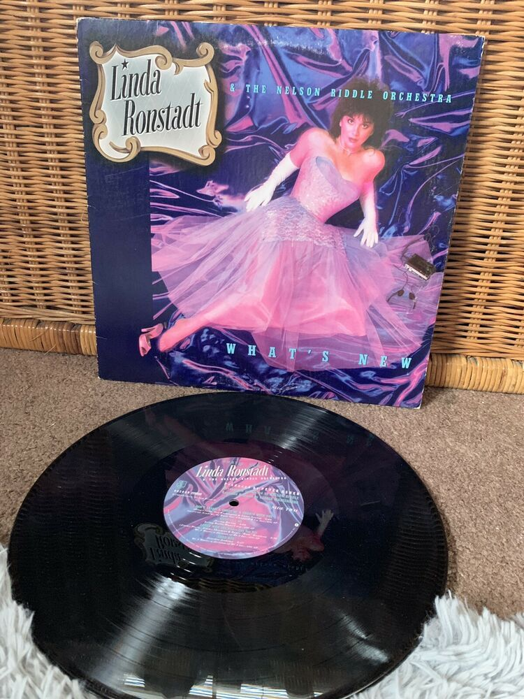 linda ronstadt And The Nelson Riddle Orchestra 1983 vinyl