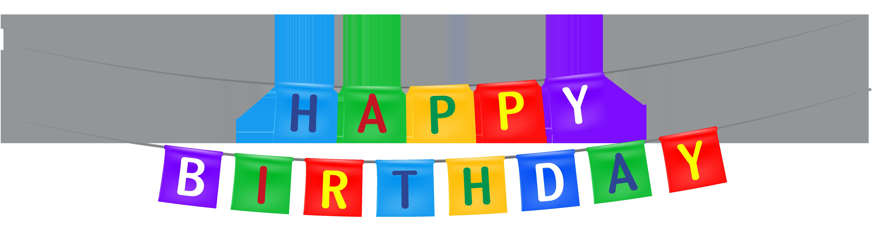 happy birthday streamers