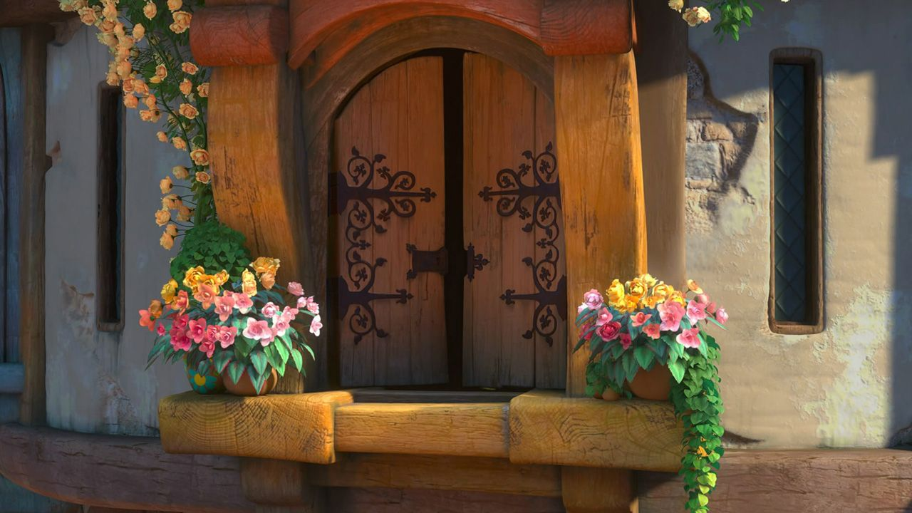 Tangled the tower window wallpapers hd birthday party tangled tangled wallpaper tangled - Tangled tower wallpaper ...