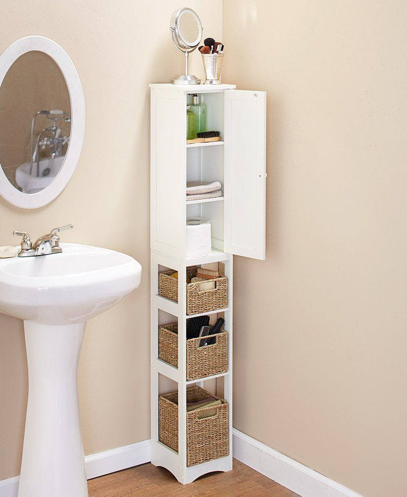 This Post Focuses On Small Bathroom Organizing Ideas And Simple Bathroom Storage Solutions Mobiliario Para Banheiro Decoracao Do Banheiro Banheiros Modernos