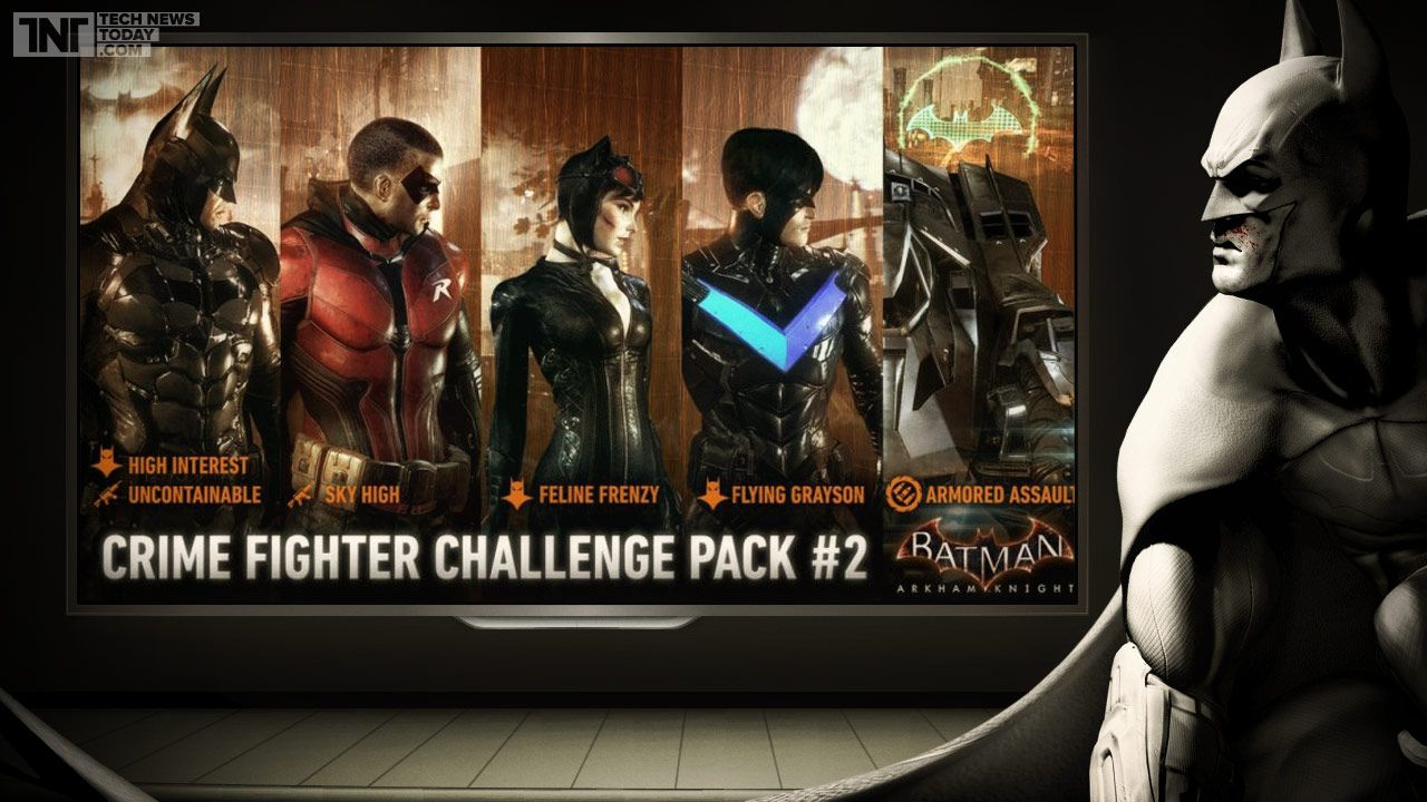 Batman Arkham Knight Upcoming Dlc Crime Fighter Challenge Pack 2