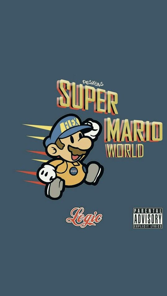 Logic Super Mario World Iphone Wallpaper