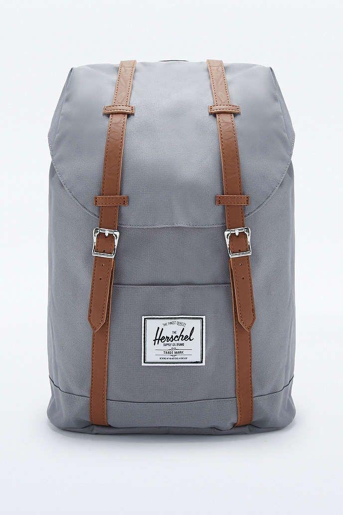 Herschel Supply co. Retreat Grey Backpack   Clothes   Pinterest ... c721c4a905