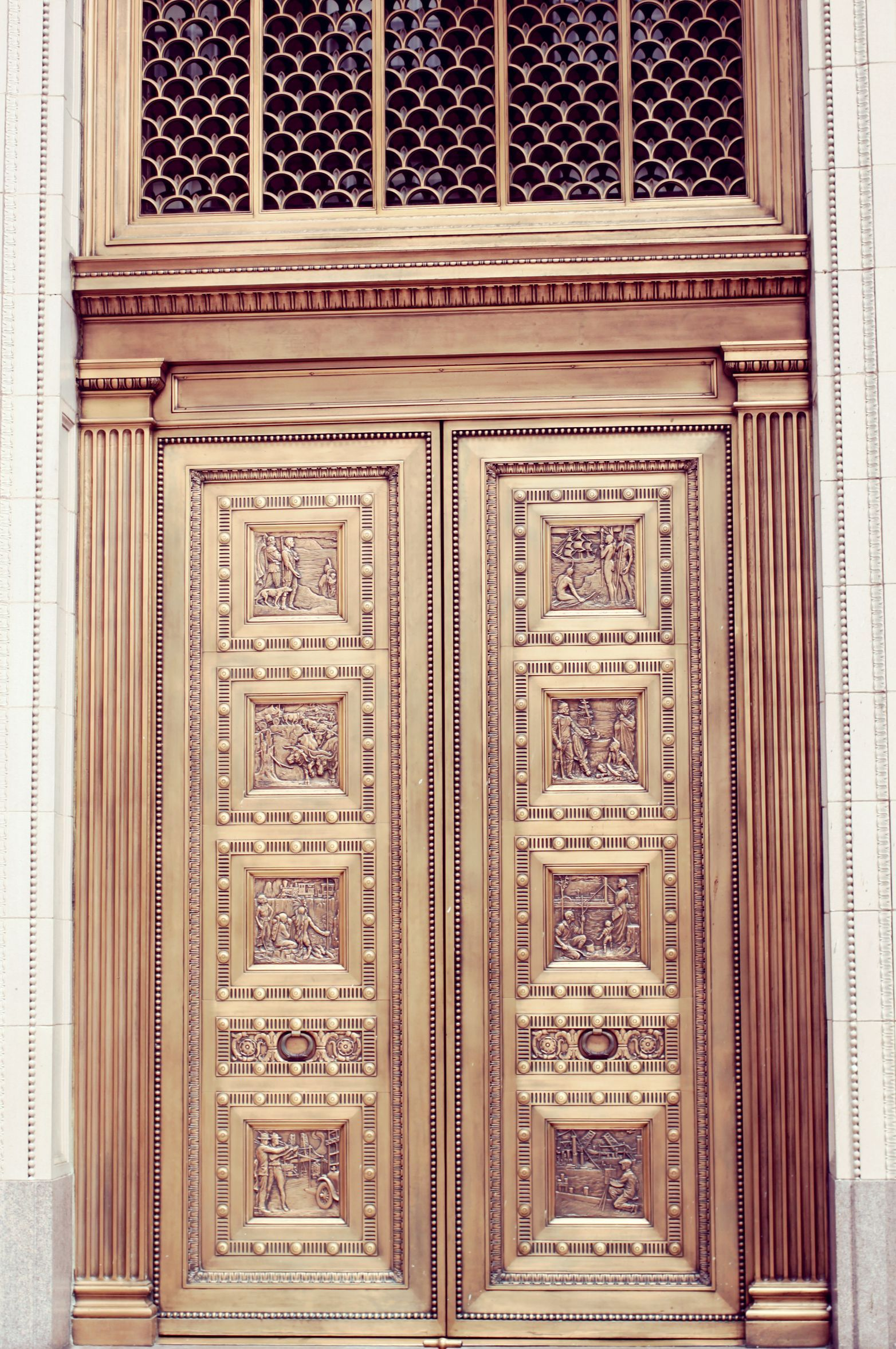 United States National Bank Portland Oregon #Gold #Door #Portland & United States National Bank Portland Oregon #Gold #Door #Portland ...