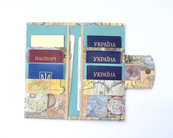 6 passport wallet family passport holder travel gifts travel 6 passport wallet family passport holder travel gifts travel accessories document organizer gumiabroncs Images