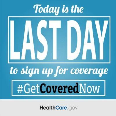 The Deadline For Health Insurance Enrollment Is Midnight Tonight