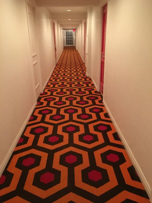Hallway At The Parker Hotel In Palm Springs California With Carpeting Inspired By The Shining Stanle Overlook Hotel Stanley Kubrick The Shining The Shining