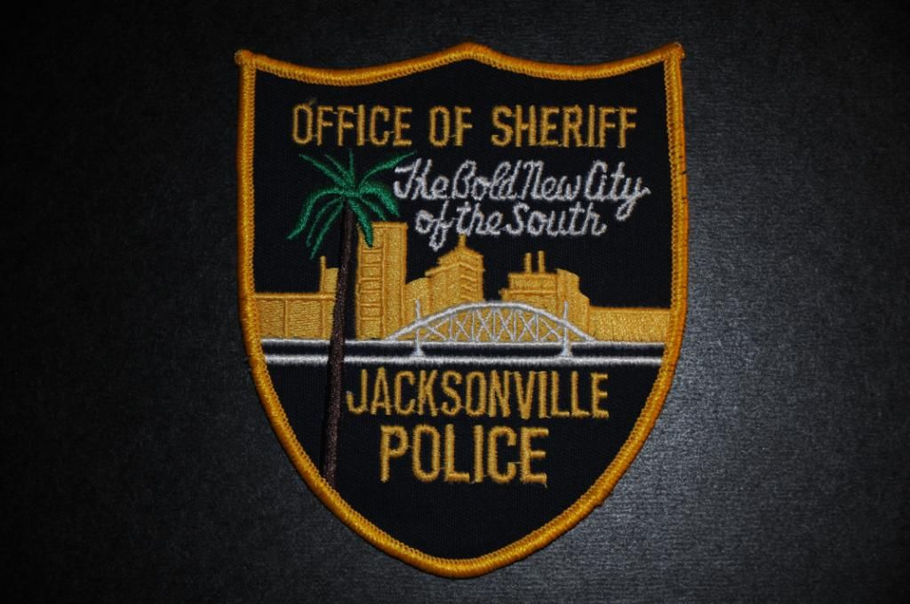 Jacksonville Sheriff S Office Patch Merged With Duval County Sheriff S Office In 1968 Duval County Florida Vintage Duval County Police Patches Police