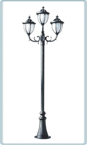 Gm 5525 powder coated cast aluminum post light outdoor lighting illuminator wholesaler offers pole and post lights for sale aloadofball Gallery