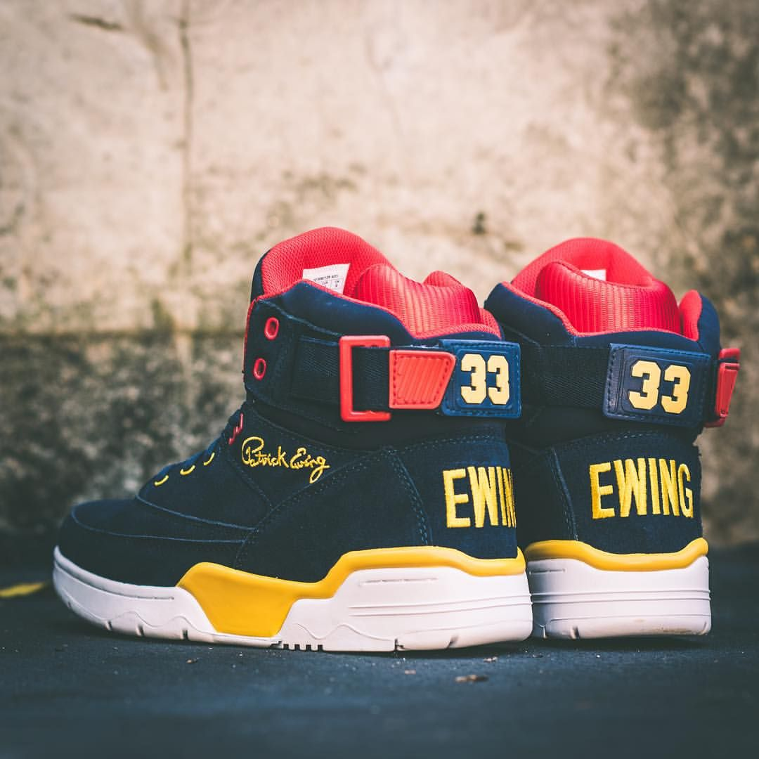 b550d8ce3f8 Ewing Athletics 33 Hi Retro Patrick Ewing Sneakers, Ewing Shoes, Ewing  Athletics, Court