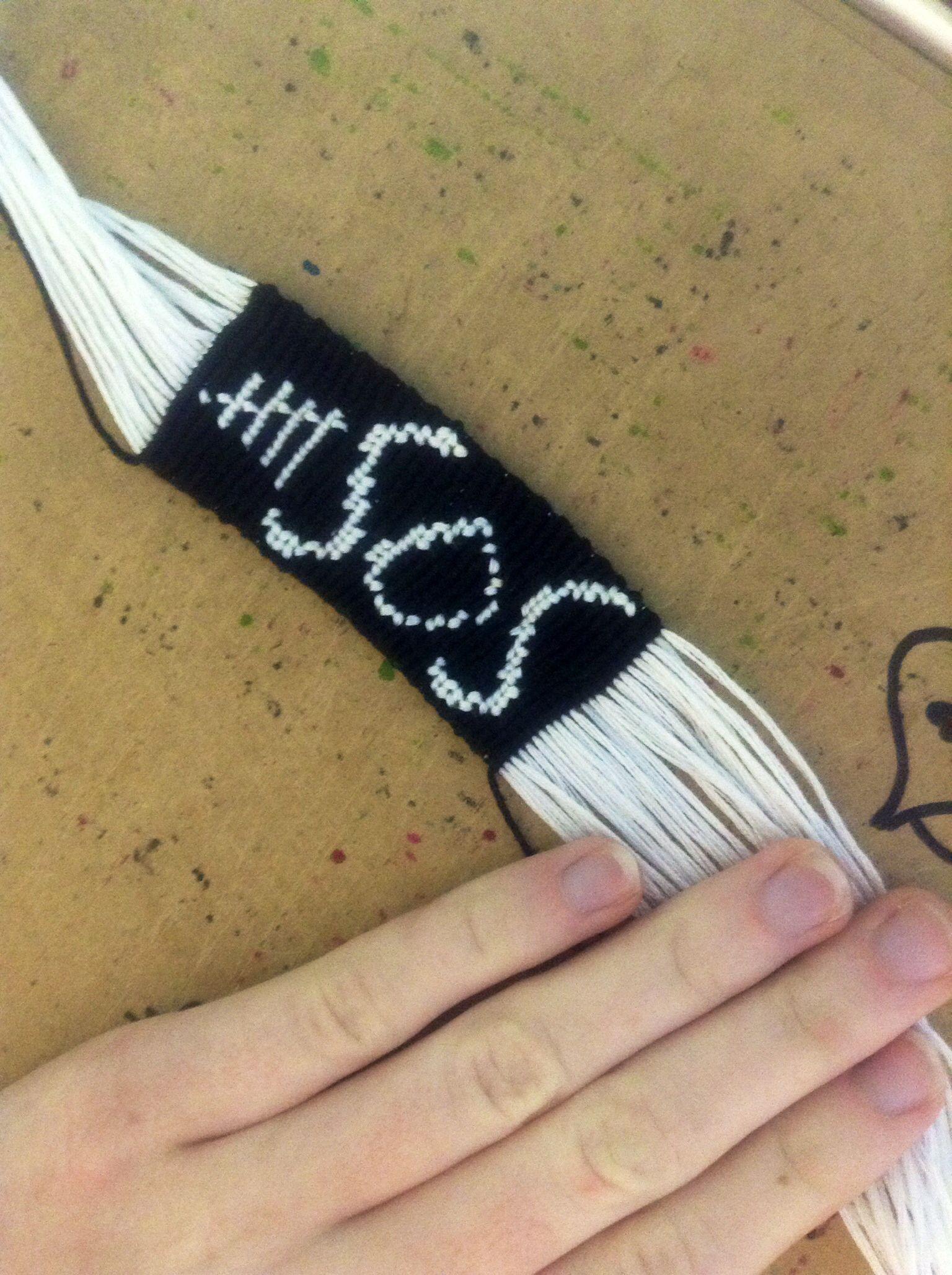 5 Seconds Of Summer Alpha Pattern Bracelet From Braceletbook