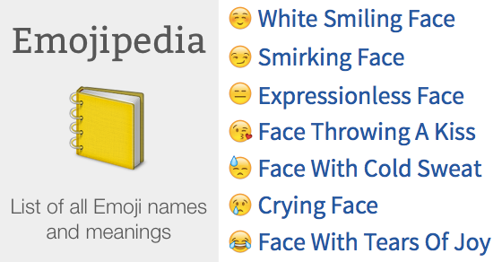 Emojipedia Find Any Emoji Meaning Emoji Emojis Meanings Meant To Be