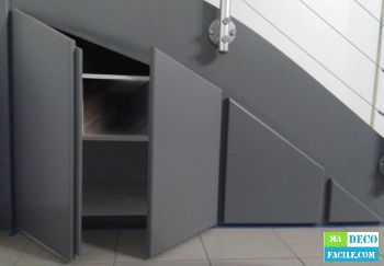 Realiser Facilement Un Placard Sous Escalier Diy Placard Sous