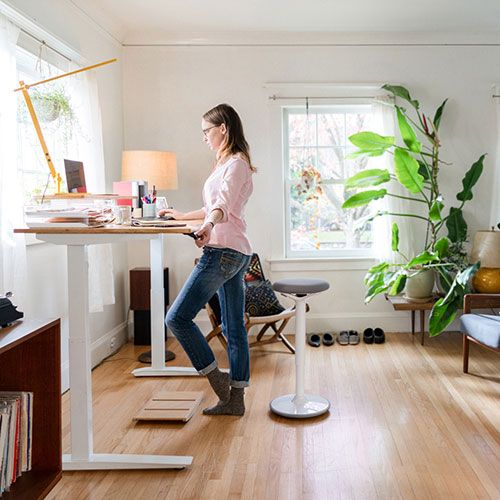Standing Desks, Chairs And Things To Keep You