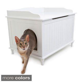 Shop For Designer Catbox Hidden Litter Box Enclosure Furniture. Get Free  Delivery At Overstock.