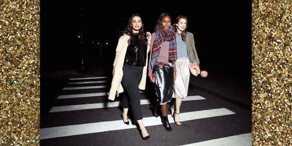 models wearing clothes from the new who what wear collection for target