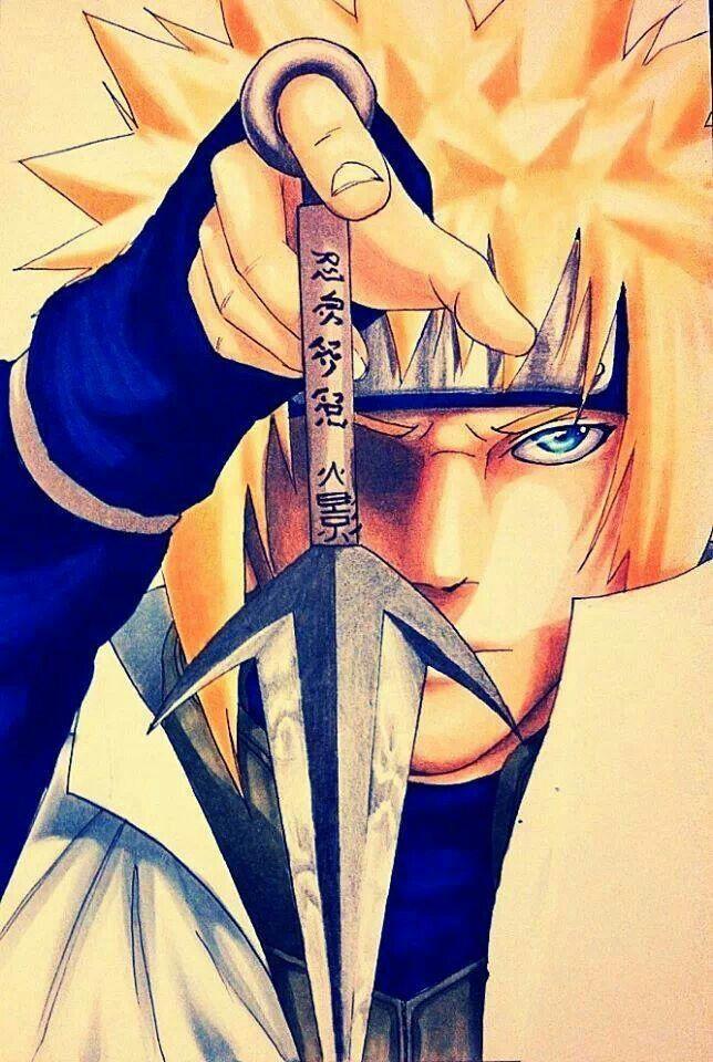 Minato, el papá de Naruto y Cuarto Hokage RIP usted fue un buen ...
