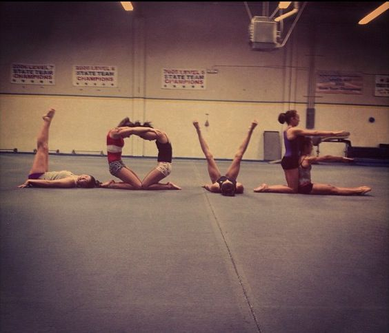 I So Have To Do This With My Gymnast Friends Citation