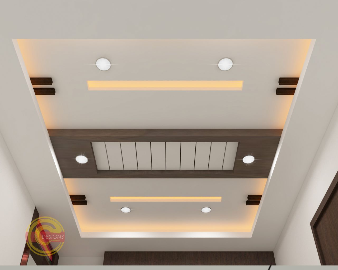 Fall Ceiling Designs Concepts | 3D Concepts in 2020 ...
