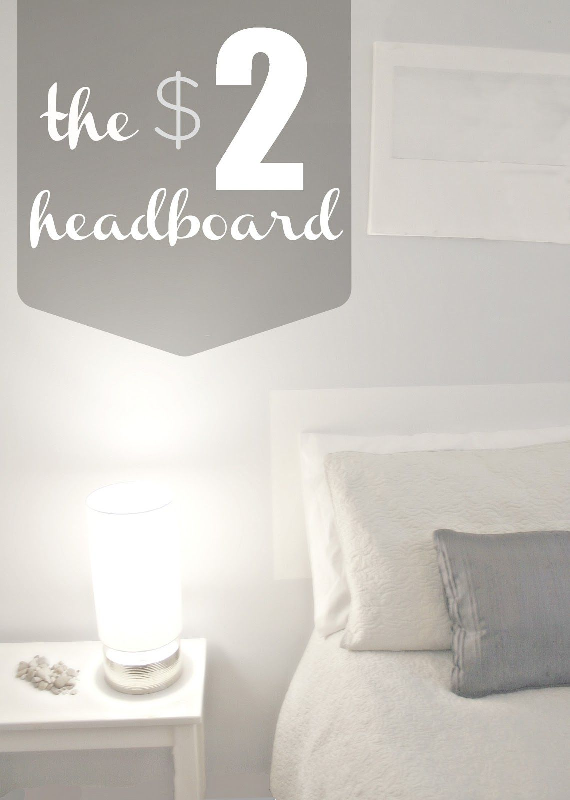 The Rikrak Studio The Amazing 2 Dollar Diy Bed Headboard